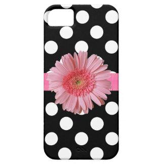 かわいらしい水玉模様のiPhone 5の電話箱 iPhone SE/5/5s ケース