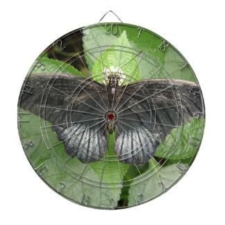 かわいらしい熱帯蝶および花の投げ矢板 ダーツボード