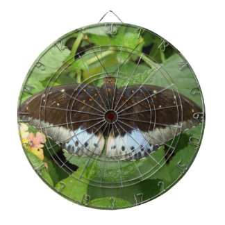 かわいらしい熱帯蝶投げ矢板 ダーツボード