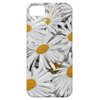 かわいらしい白いデイジーのプリントの電話箱 iPhone SE/5/5s ケース