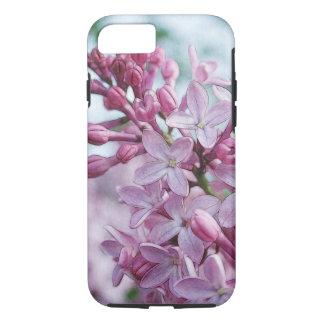 かわいらしい紫色のライラック iPhone 8/7ケース
