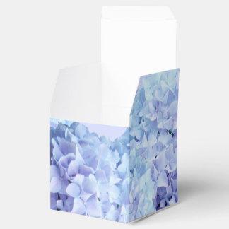 かわいらしい紫色の青いアジサイの花の花 フェイバーボックス