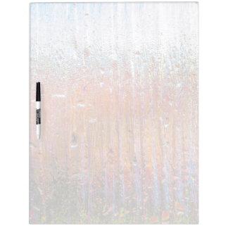 かわいらしい色のガラスの雨 ホワイトボード