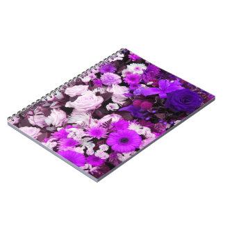かわいらしい花のノート ノートブック