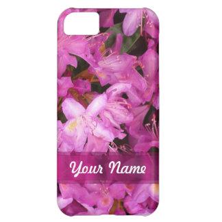 かわいらしい花の名前入り iPhone5Cケース