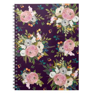 かわいらしい花の庭のノート ノートブック