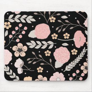 かわいらしい花の植物のマウスパッド マウスパッド