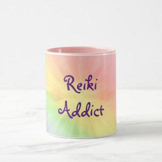 かわいらしい虹の霊気の常習者のデザイン マグカップ