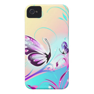 かわいらしい蝶iphone 4ケース Case-Mate iPhone 4 ケース