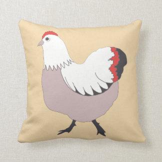 """かわいらしい農場の雌鶏、ポリエステル装飾用クッション16"""" x 16"""" クッション"""