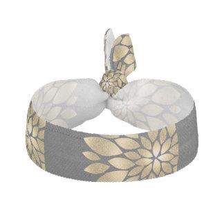 かわいらしい金ゴールドの模造のなグリッターの抽象芸術の花 ヘアタイ