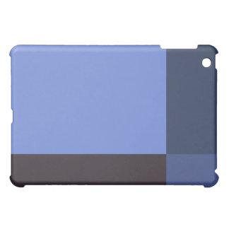 かわいらしい青のブロック iPad MINIカバー