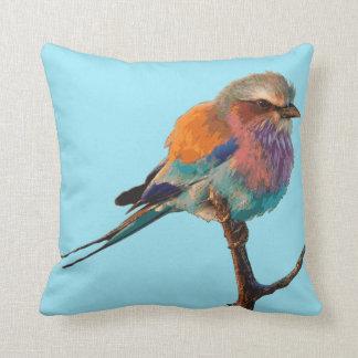 かわいらしい鳥の水のミントの装飾用クッション クッション