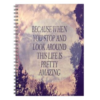 かわいらしくすばらしいノート ノートブック