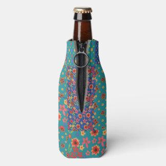 かわいらしくノスタルジックで模造のなパッチワークのボトルのクーラー ボトルクーラー