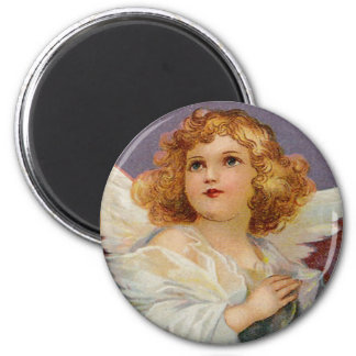 かわいらしく小さい天使-磁石 マグネット