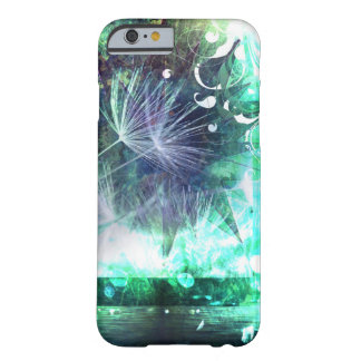 かわいらしく抽象的なタンポポの種の華麗さの電話箱 BARELY THERE iPhone 6 ケース