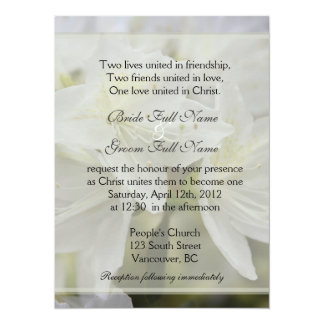 かわいらしく白いツツジによってはキリスト教の結婚式が開花します カード