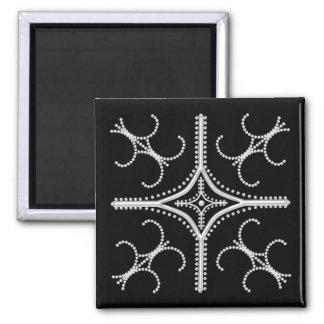 かわいらしく真珠のような磁石2x2 マグネット