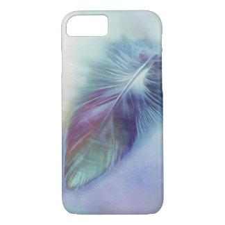 かわいらしく青い羽の芸術のiPhone 7カバー iPhone 8/7ケース