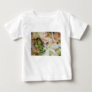 かわいらし花柄dc結婚式リング打撃Rebekah Hoyt PH ベビーTシャツ