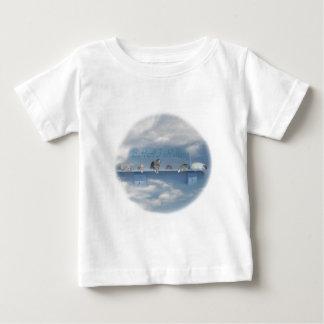 がきのRatteryのロゴのベビーまたは幼児のサイズ ベビーTシャツ