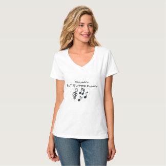がっしりしたしかし極度のファンキー Tシャツ