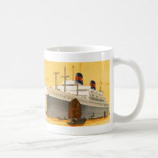 がらくたのボートとの東洋へのヴィンテージの遊航船 コーヒーマグカップ