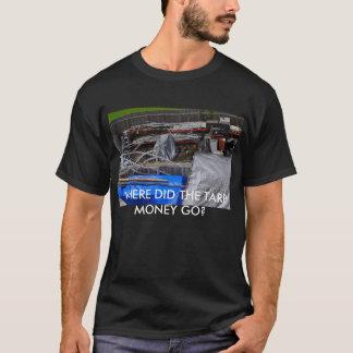 がらくた、防水シートのお金はどこに行きましたか。 Tシャツ