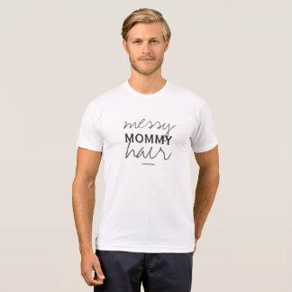 きたないお母さんの毛のTシャツのお母さんは72marketingを生み出します Tシャツ