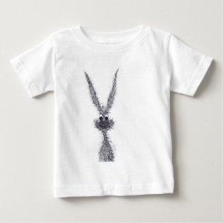 きたないノウサギ ベビーTシャツ
