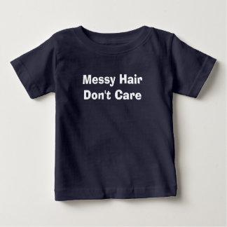 きたない毛は気になりません ベビーTシャツ