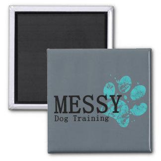 きたない犬の訓練の磁石 マグネット