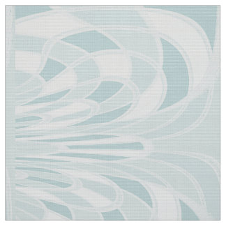きのこ、抽象芸術-水-生地 ファブリック