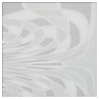 きのこ、抽象芸術-白生地 ファブリック