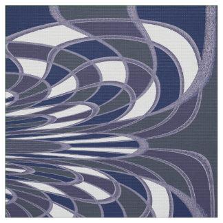 きのこ、抽象芸術-空-生地 ファブリック