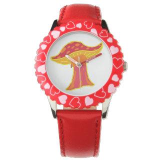 きのこ 腕時計