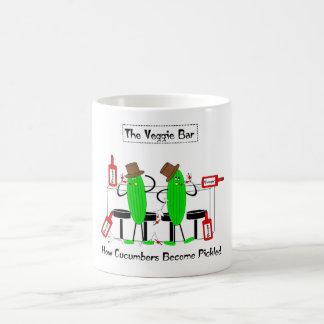 きゅうりが漬物にいかになるか コーヒーマグカップ