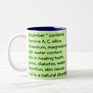 きゅうりのマグ ツートーンマグカップ