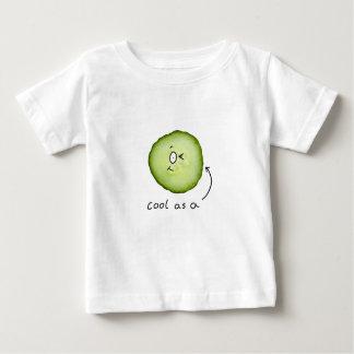 きゅうりの乳児のTシャツとしてカッコいい ベビーTシャツ