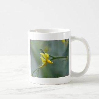 きゅうりの植物の花 コーヒーマグカップ