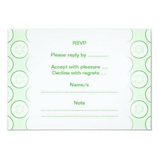 きゅうりの水玉模様パターン カード