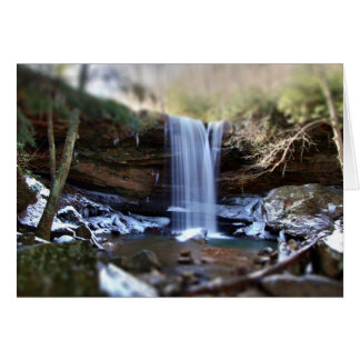 きゅうりの滝、Ohiopyleペンシルバニア カード