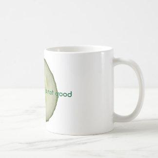 きゅうりはよくないです コーヒーマグカップ