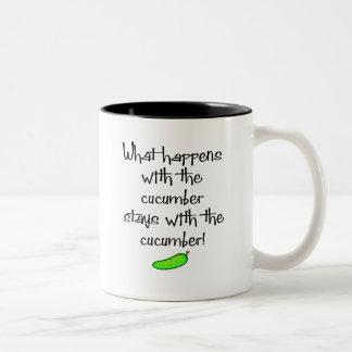 きゅうり ツートーンマグカップ