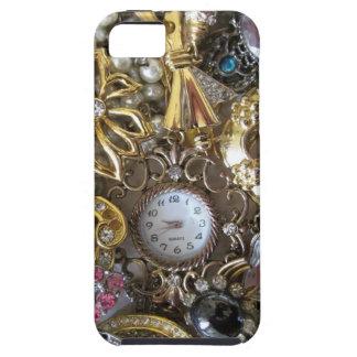 きらきら光るできらきら光るなジュエリーのコレクション iPhone SE/5/5s ケース