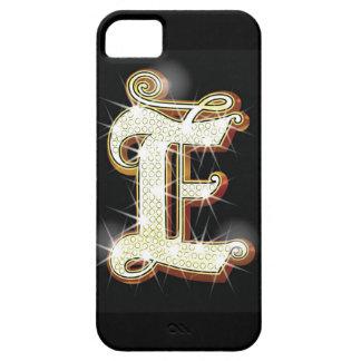 きらきら光るなアルファベットE iPhone SE/5/5s ケース