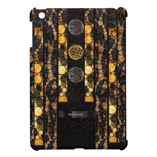 きらきら光るなヒョウのチータ iPad MINIケース