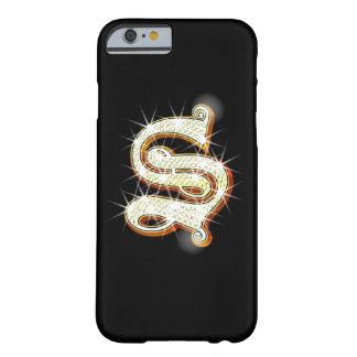 きらきら光るなモノグラムSのiPhone6ケース Barely There iPhone 6 ケース