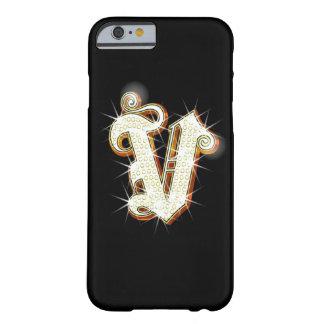 きらきら光るなモノグラムVのiPhone6ケース Barely There iPhone 6 ケース